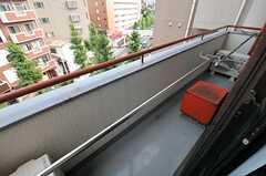 ベランダの様子。(403号室)(2013-09-05,専有部,ROOM,4F)