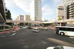 渋谷橋の様子。(2013-09-05,共用部,ENVIRONMENT,1F)