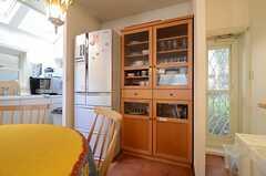 食器棚の様子。(2015-01-19,共用部,KITCHEN,1F)
