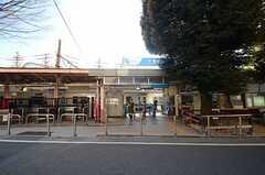 小田急小田原線・参宮橋駅の様子。(2015-01-19,共用部,ENVIRONMENT,1F)