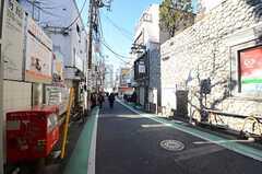 小田急小田原線・参宮橋駅前の様子。(2015-01-19,共用部,ENVIRONMENT,1F)