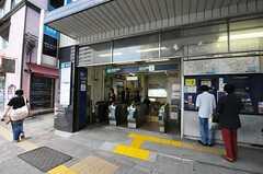 東京メトロ日比谷線・広尾駅の様子。(2010-10-06,共用部,ENVIRONMENT,1F)