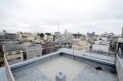 屋上の様子。360°ビューです。(2013-05-30,共用部,OTHER,6F)