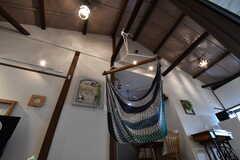 天井を見上げると、とても高いです。(2017-06-07,共用部,OTHER,2F)