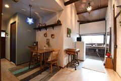 リビングの様子3。奥がキッチンです。(2017-06-07,共用部,OTHER,2F)