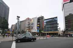 各線・恵比寿駅前の様子。(2013-07-01,共用部,ENVIRONMENT,1F)