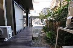庭の様子。(2012-08-31,共用部,OTHER,1F)