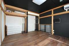 ドミトリーの様子。4人部屋です。(101号室)(2012-08-31,専有部,ROOM,1F)