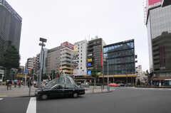 各線・恵比寿駅の周辺の様子。(2014-04-02,共用部,ENVIRONMENT,1F)