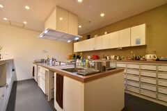 キッチンの様子。(2020-12-08,共用部,KITCHEN,-1F)
