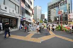 東京メトロ銀座線・外苑前駅の様子。(2012-09-14,共用部,ENVIRONMENT,1F)