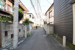 シェアハウス周辺はのんびりした住宅街です。(2012-09-14,共用部,ENVIRONMENT,1F)