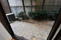 庭の様子。(105号室)(2011-11-10,専有部,ROOM,1F)