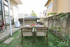 庭の様子2。(2013-08-14,共用部,OTHER,1F)