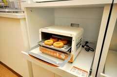 オーブンの様子。(2009-02-02,共用部,OTHER,9F)