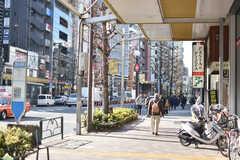 各線・恵比寿駅周辺の様子。(2018-02-09,共用部,ENVIRONMENT,1F)