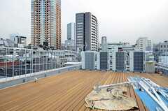 屋上の様子。(2013-02-21,共用部,OTHER,4F)