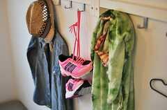 ランニングシューズがポップで可愛いです。※モデルルームです。(306号室)(2013-02-21,専有部,ROOM,4F)