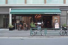 恵比寿通り沿いのオープンカフェ。(2016-10-26,共用部,ENVIRONMENT,1F)
