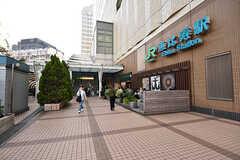 各線・恵比寿駅東口の様子。(2016-10-26,共用部,ENVIRONMENT,1F)