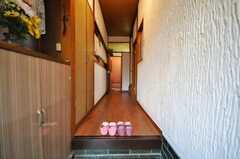 正面玄関から見た内部の様子。(2009-12-24,周辺環境,ENTRANCE,1F)