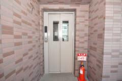エレベーターの様子。(2009-10-09,共用部,OTHER,1F)