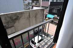 窓の外の景色。(301号室)(2013-05-23,専有部,ROOM,3F)