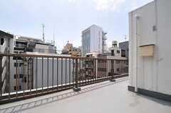 屋上の様子3。(2013-05-23,共用部,OTHER,4F)