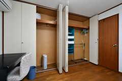 収納の様子。大容量です。(101号室)(2019-05-14,専有部,ROOM,1F)