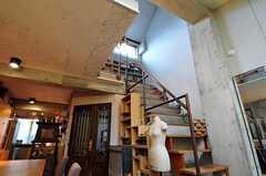 4Fへと上がる階段があります。(2011-05-12,共用部,OTHER,3F)