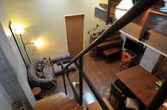 上階から見たリビングの様子。(2011-05-12,共用部,OTHER,4F)