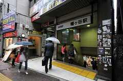 京王新線・幡ヶ谷駅の様子。(2011-05-12,共用部,ENVIRONMENT,1F)