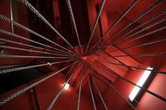 階段を下から見上げるとこんな感じ。(2011-04-01,共用部,OTHER,1F)