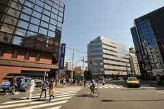 各線・恵比寿駅からシェアハウスへ向かう道の様子。(2011-04-01,共用部,ENVIRONMENT,1F)