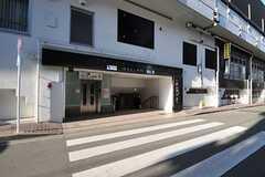 各線・代々木上原駅の様子。(2013-01-31,共用部,ENVIRONMENT,1F)