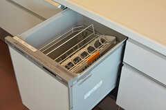 食器洗浄機が使用できます。(2016-09-28,共用部,KITCHEN,1F)
