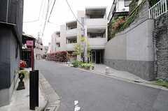 シェアハウスの周辺は閑静な住宅街です。(2013-04-19,共用部,ENVIRONMENT,1F)