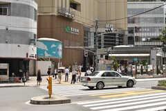 各線・恵比寿駅の様子。(2017-08-07,共用部,ENVIRONMENT,1F)