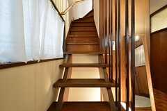 階段の様子。(2016-03-24,共用部,OTHER,1F)