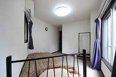 窓側から見た専有部の様子。(202号室)(2012-08-29,専有部,ROOM,2F)