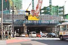 各線・渋谷駅周辺の様子。(2017-04-27,共用部,ENVIRONMENT,5F)