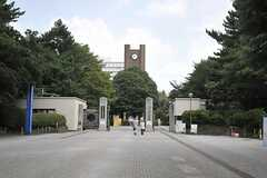東京大学駒場キャンパスの様子。(2011-08-17,共用部,ENVIRONMENT,2F)