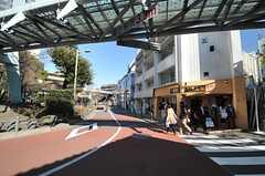東急東横線・代官山駅前の様子。(2014-03-11,共用部,ENVIRONMENT,1F)