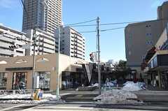 東急東横線・代官山駅周辺の様子。(2014-02-16,共用部,ENVIRONMENT,1F)
