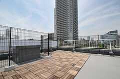 屋上の様子。(2014-05-30,共用部,OTHER,5F)