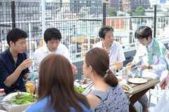 イベントの様子5。(House Trip -代官山にいきつけをつくる-)(2014-07-27,共用部,PARTY,5F)
