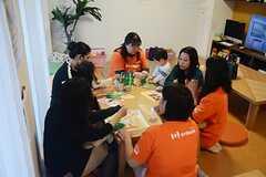 提携サービス「子育てシェア」の説明イベントの様子。(2014-11-01,共用部,PARTY,1F)