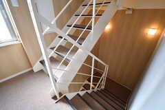 階段の様子。(2017-04-06,共用部,OTHER,4F)