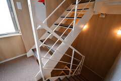 階段の様子。(2017-04-06,共用部,OTHER,3F)