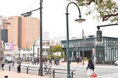 各線・恵比寿駅の様子。(2017-04-06,共用部,ENVIRONMENT,1F)